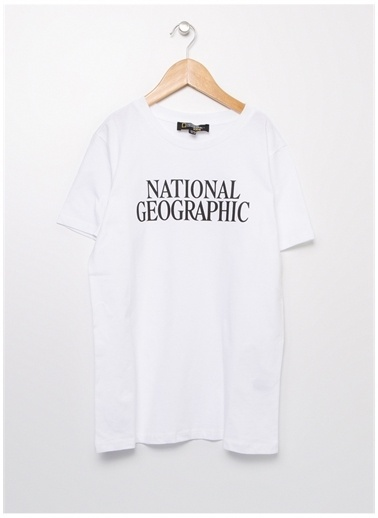 National Geographic National Geographic Beyaz Erkek Çocuk T-Shirt Beyaz